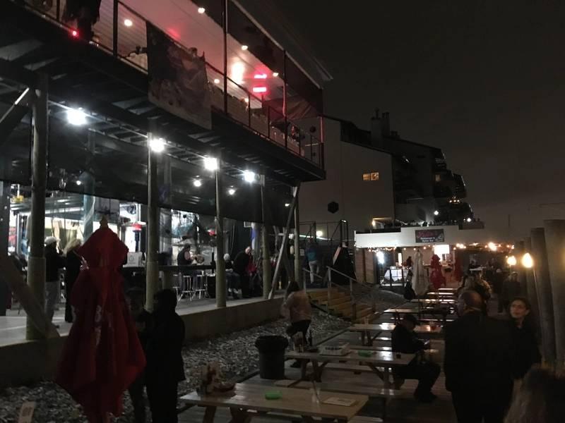 Εστιατόριο του Felix. Ιστιοπλοϊκή παρέλαση του West End, Νέο κανάλι λεκάνης. Νέα Ορλεάνη. Φωτογραφία από τη Λίζα
