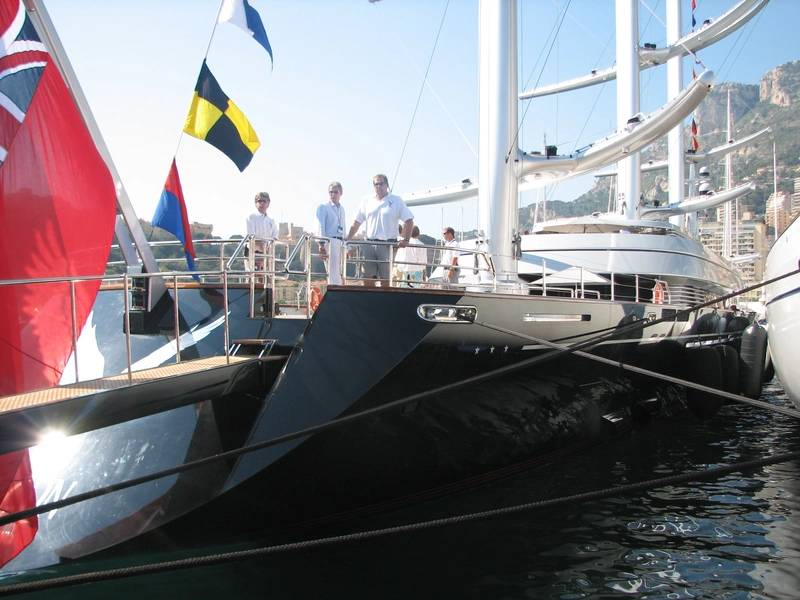喜欢欧洲码头服务的大型帆船游艇可能会将Derecktor Fort Pierce视为美国的替代品。摄影:Lisa Overing