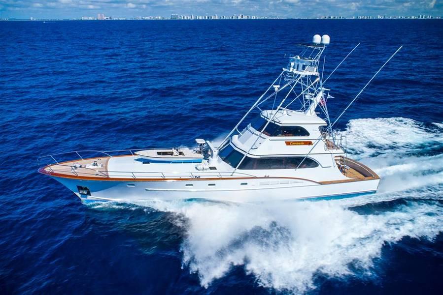 科曼奇照片由Gilman Yachts提供