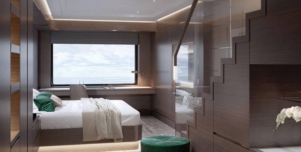 阁楼套房。照片来源:丽思卡尔顿游艇系列