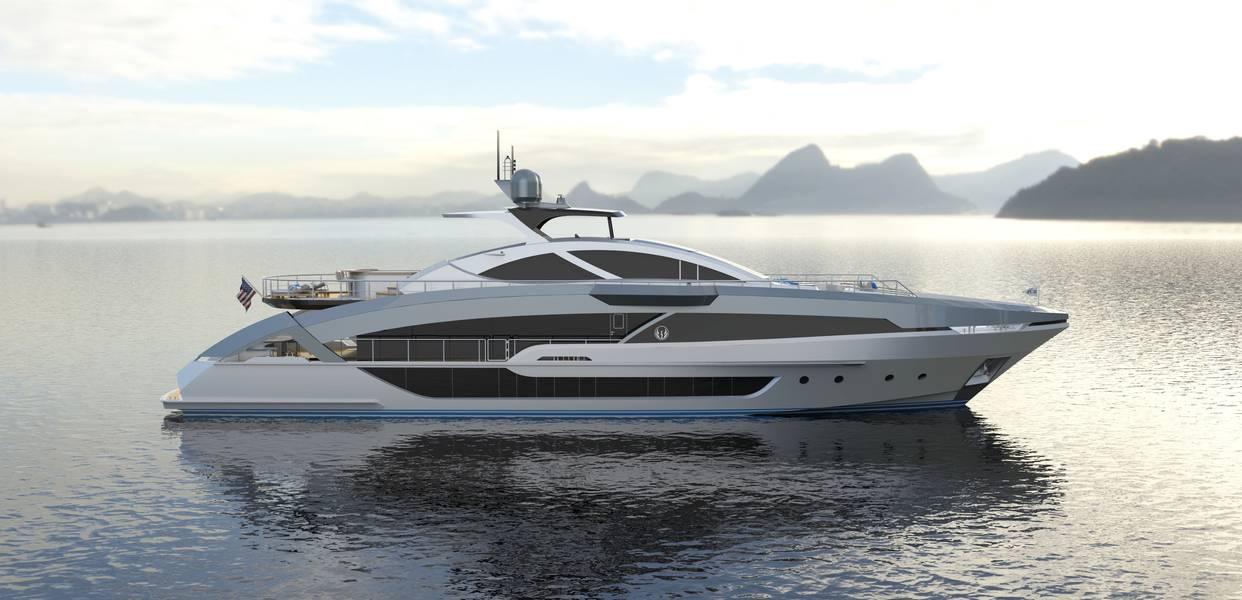 项目Phoenix 130外观由Lazzara Ombres设计。