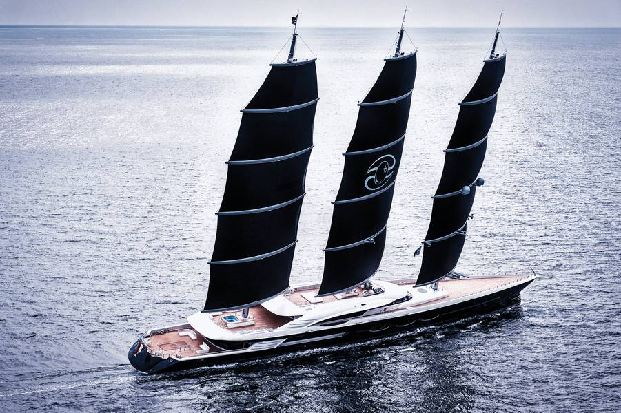 S / Y Black Pearl Фото предоставлено Oceanco