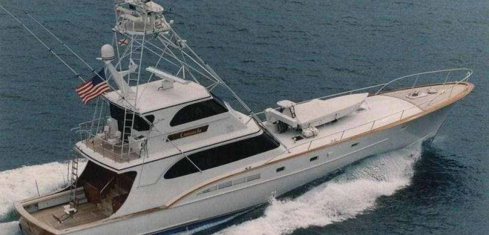 M / Y Comanche любезно предоставлен Gilman Yachts