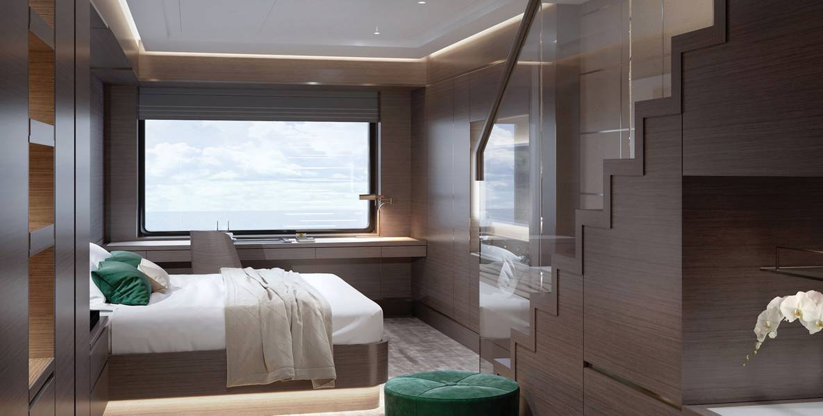 Die Loft Suite. Bildnachweis: Die Ritz Carlton Yacht Collection