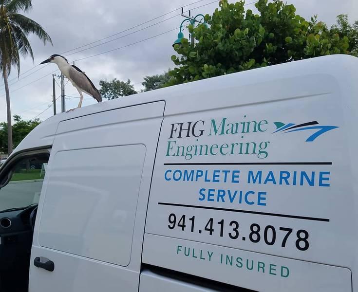 FHGME为南佛罗里达州的游艇提供服务。 FHGME供图。