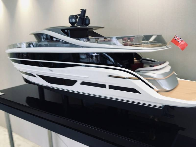 Foto de modelo Princess X95 Super Flybridge por Lisa Overing