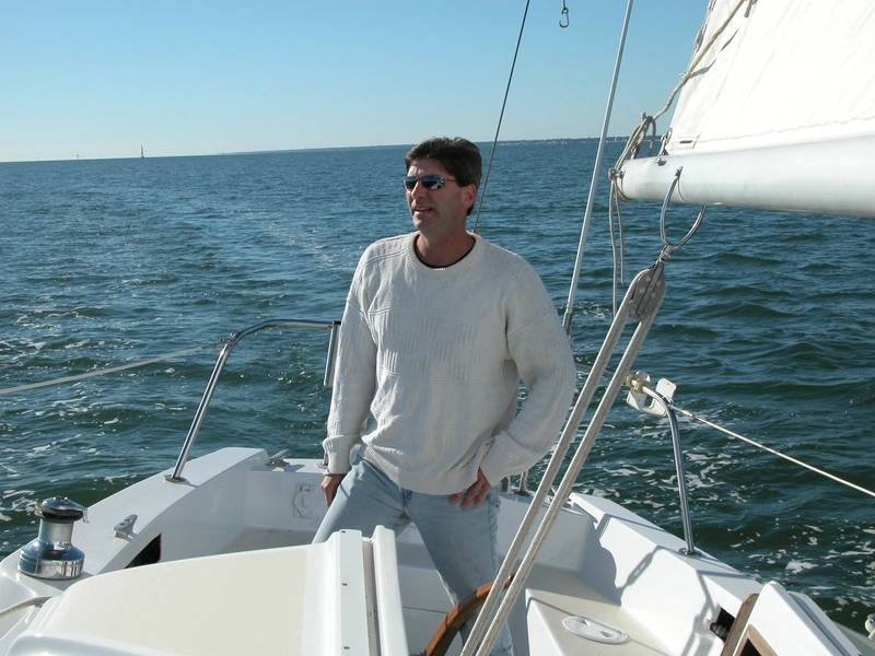 Geoffrey van Aller lançou sua própria empresa de design marítimo, a van Aller Yacht & Naval Design, em Ocean Springs, MS. Foto cedida por Geoff van Aller