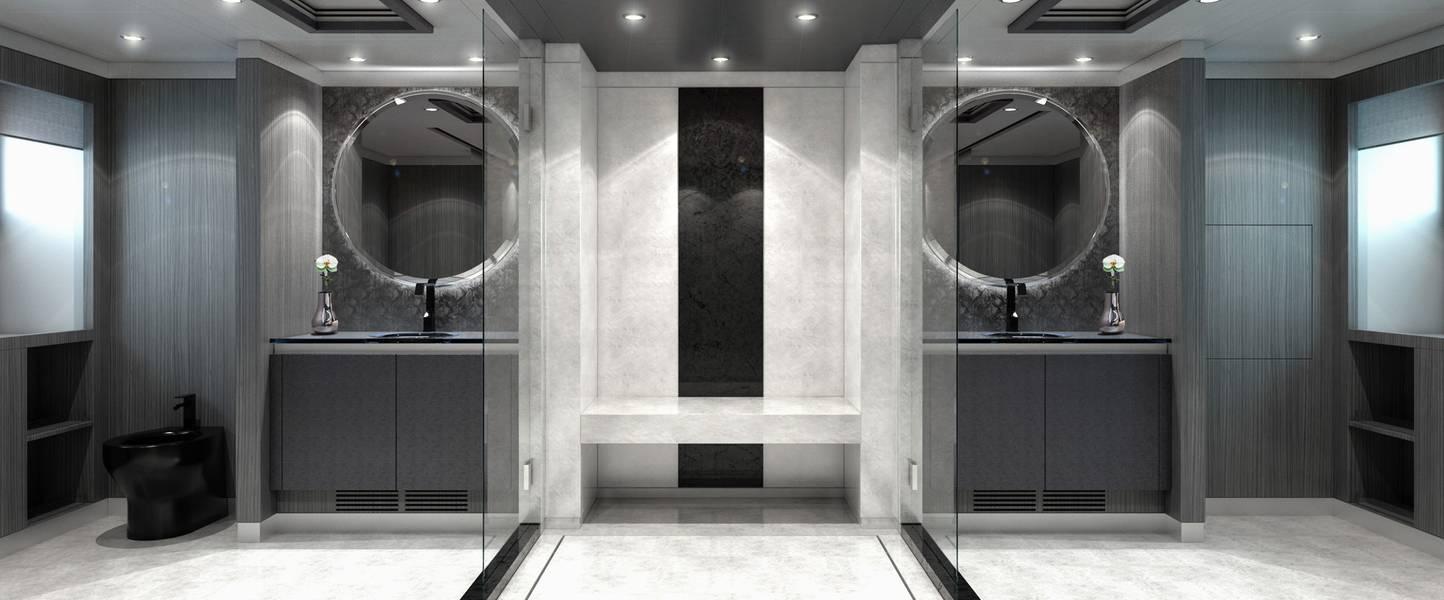 Las representaciones interiores son cortesía de AKJ Design Concepts, LLC.