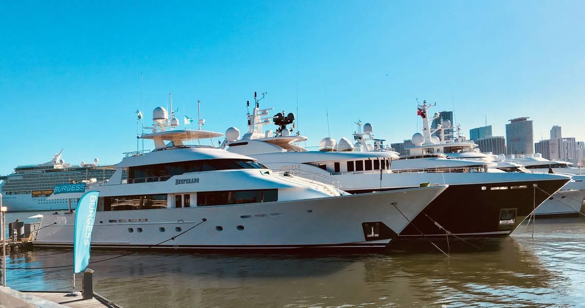 Miami Super Yacht Show en Watson Island 2018. Foto por Lisa Overing