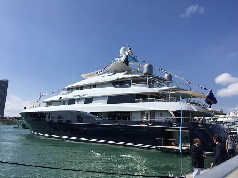 Miami Yacht Show. Foto von Lisa Overing.
