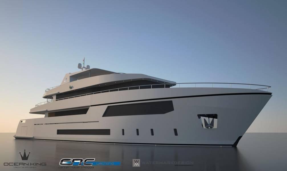Ocean Queen 150 Render (تصوير: Ocean King)