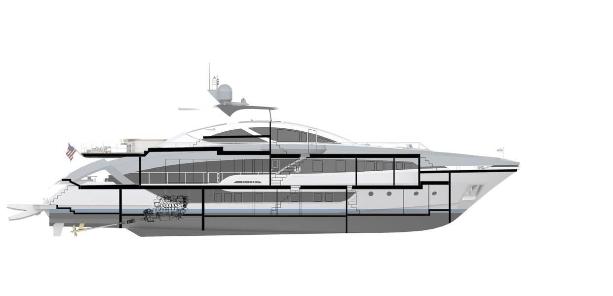 Projeto Phoenix 130 renderizado por Lazzara Ombres.