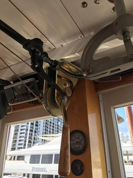 M / Vコースタルクイーンの操舵室、リサ・オービングによる。