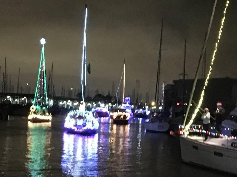 West End Boat Parade, Canal Nueva Cuenca. Nueva Orleans. Foto de Lisa Overing.