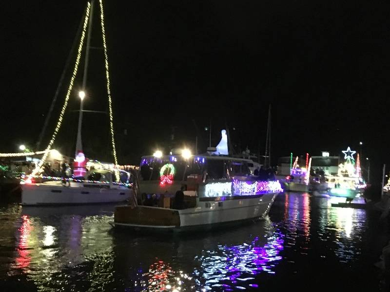 West End Boat Parade, New Basin Canal. New Orleans. Foto von Lisa Overing