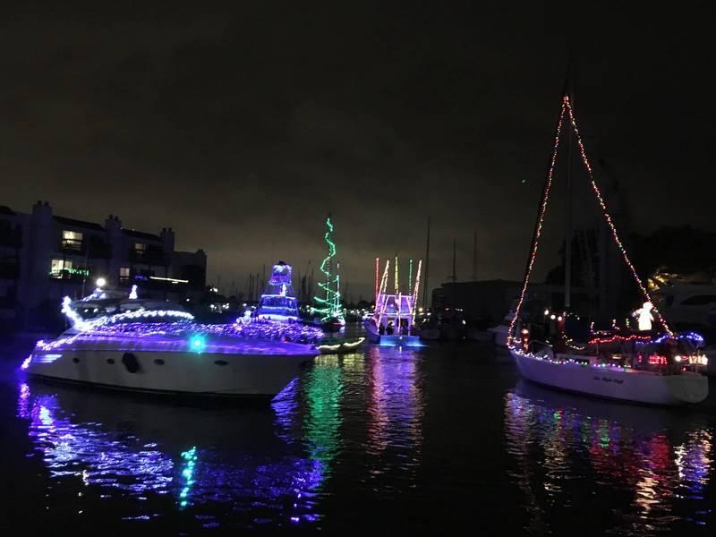 West End Boat Parade, Städtischer Yachthafen. New Orleans. Foto von Lisa Overing