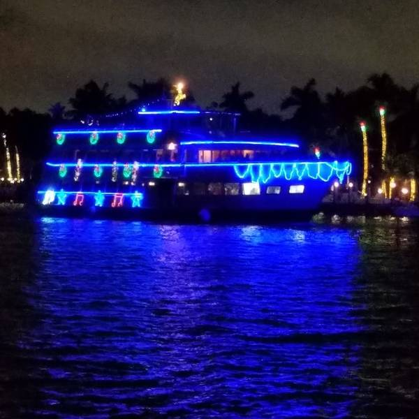 Winterfest Boat Parade. Fort Lauderdale. Foto von Scott Salomon.