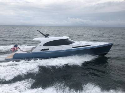Палм Бич GT50. Фото предоставлено Palm Beach Motor Yachts.