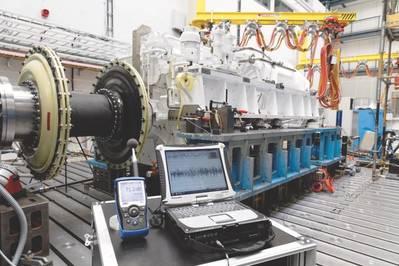 Усовершенствованный электрический привод Renk (AED). (Фото: Ренк)