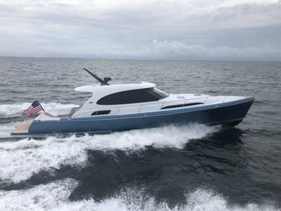 Palm Beach GT50. Foto mit freundlicher Genehmigung von Palm Beach Motor Yachts.