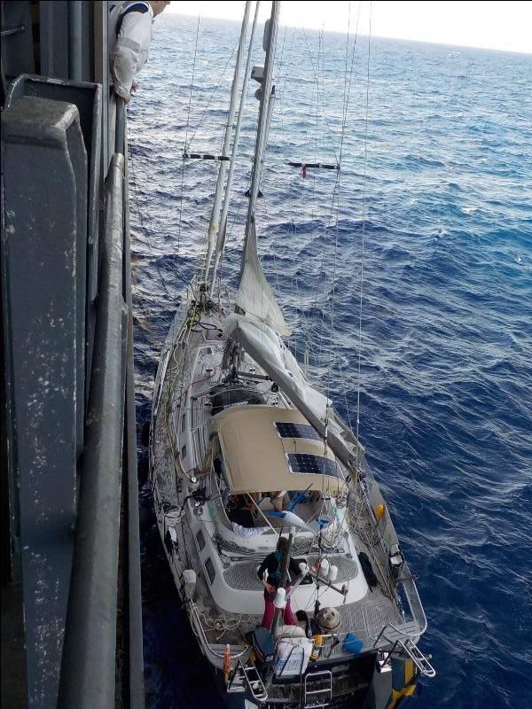 照片来源:CMA CGM巴西船员