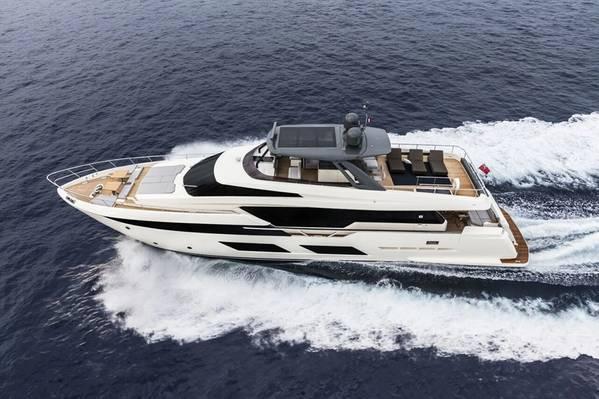 Ferretti Yachts 920 (Foto: Grupo Ferretti)