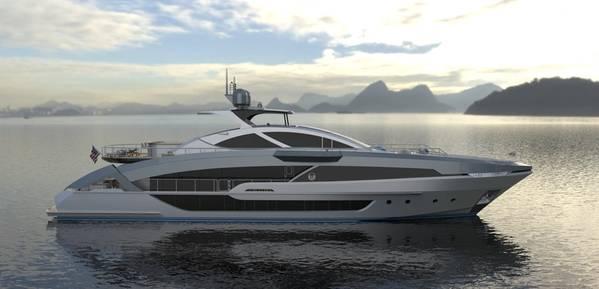 Projeto Phoenix 130 renderizado por Lazzara Ombres Architects.