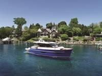 BLUE, the Burger 48 Cruiser  (Photo: Burger Boat Company)