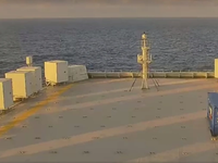 Screen capture from the moment that Tamesis first crossed the equator on Dec 8 2018 (Photo: Marlink)