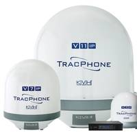KVH's advanced TracPhone V-IP series satellite antenna systems are designed and optimized for the mini-VSAT Broadband network.