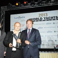 Award presentation in Monaco: Photo courtesy of Oceanco