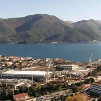 Bijela shipyard in Boka Bay, Montenegro. Photo: Damen Shipyards