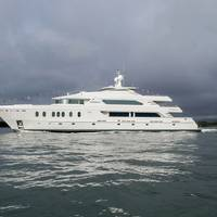 Designed for transoceanic voyages, The MCP Hemisphere 140 Raffaella II is the largest yacht built in Brazil to date and the largest aluminum yacht ever constructed in South America.