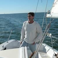 Geoffrey van Aller launched his own marine design firm, van Aller Yacht & Naval Design, in Ocean Springs, MS. Photo courtesy Geoff van Aller.