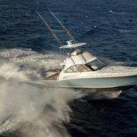 Hatteras 45 Express Bridge Option Photo Hatteras Yachts