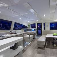 Interior Powercat 514: Rendering courtesy of The Moorings