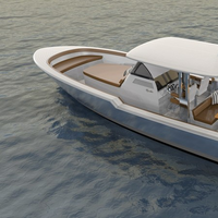 Layout on deck is entirely customizable to suit your needs. Whether you are in the market for a tender, a family cruiser or a weekend warrior, arrangement on deck can be tailored specifically to your style of yachting on any given day. (Photo: Rambler Yacht Co.)