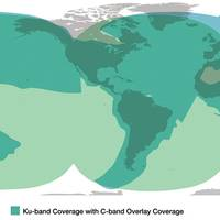 KVH mini-VSAT Broadband coverage map