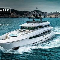 M/Y Namaste 2018 courtesy of Mangusta