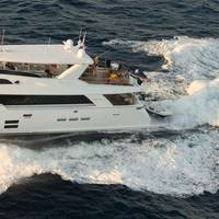 Photo courtersy of Hatteras Yachts