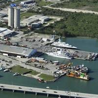 Proposed locations for Derecktor Fort Pierce. Photo courtesy Derecktor Shipyard.