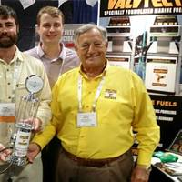 Left to right: Paul Craufurd, ValvTect Regional Manager; Robin Rose of Preston Development; Hank Whitley CMM, of Southport Marina; Thad Moore of Preston Development and Jerry Nessenson, founder of ValvTect Petroleum (Photo: ValvTect)