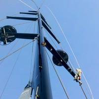 Mast & Spars: Photo courtesy of Hall Spars