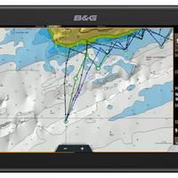 Zeus3 chartplotter showing alternative PredictWind routing. (Photo: B&G)