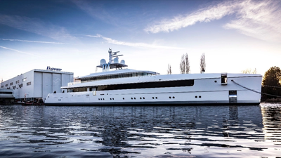 Feadship Najiba (Photo: Feadship)