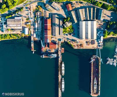 The historic Lindenau Shipyard will get and investment injection and support Nobiskrug's growth plans. Photo: Nobiskrug