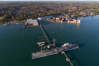 Hythe Shipyard in Southampton (courtesy of Fairline)
