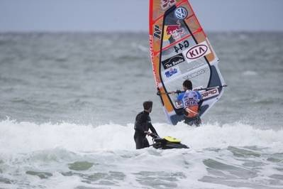 Klitmøller, Denmark, Windsurfer: Photo courtesy of KIA Cold Hawaii PWA