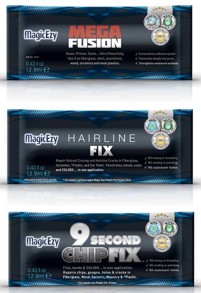 MagicEzy's new line of nanotechnology-based boat repair products