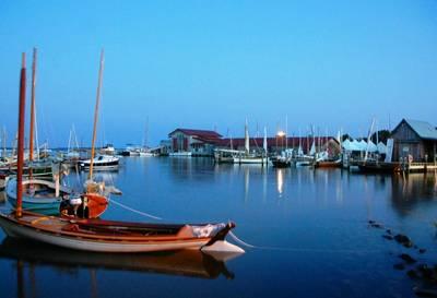 Yacht Harbor: Photo credit CBMM